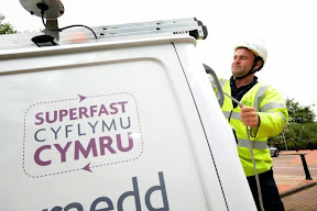 Superfast Broadband has arrived in Mid Wales