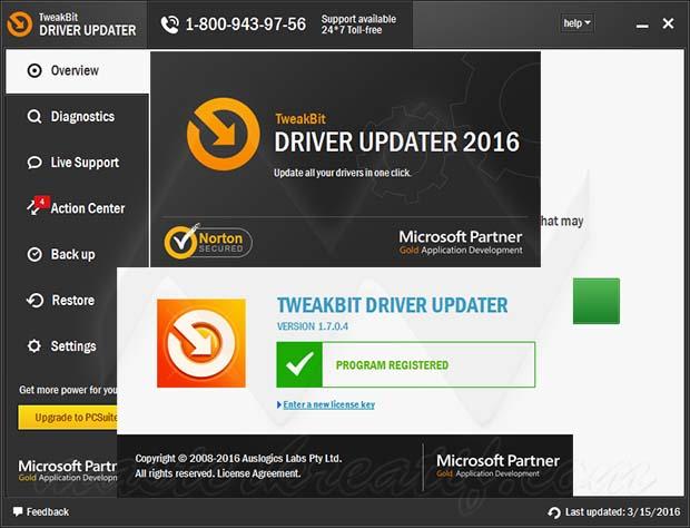 TweakBit Driver Updater 2016