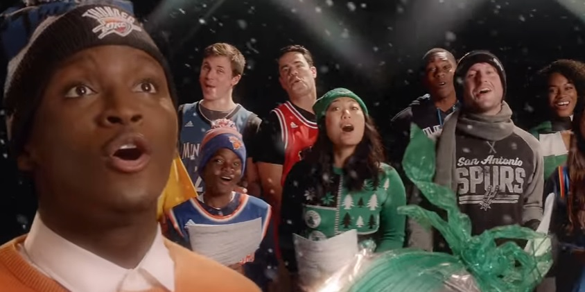 "NBA Superstars Sing ""The Most Dunktastic Time of the Year"" in New Commercial Created by The Marketing Arm"