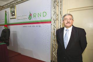 Dissidence au RND: Un soutien de poids pour Ouyahia