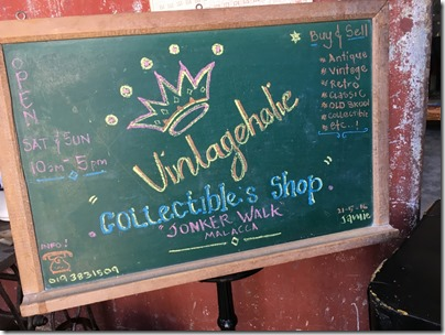 Vintageholic Collectible & Shop, Malacca