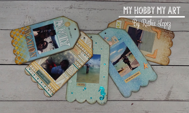 Mini album, clear Scraps Kits, Ruthie Lopez 8