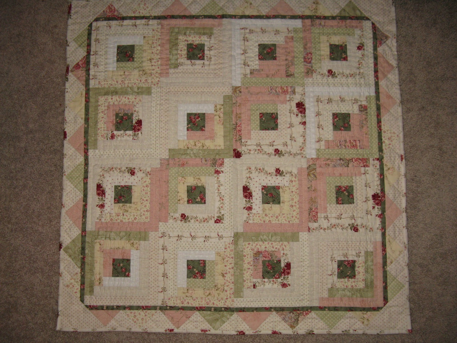 Amazing photo of My favorite quilt pattern is the Log Cabin I have probably made about with #545637 color and 1600x1200 pixels