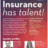 Vic 'Insurance: Has Talent' seminar