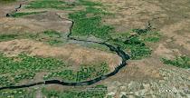 Wallula Gap maps and Google Earth views
