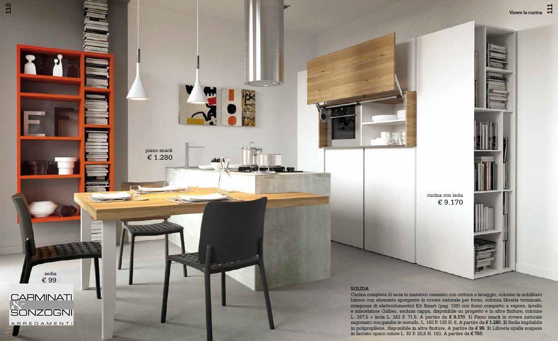 Cucine la casa moderna carminati e sonzognicarminati e for Arredare casa on line