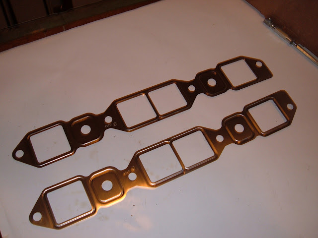 ING-S ..1957-1966 364-401-425 stock steel intake gaskets 18.50 a set