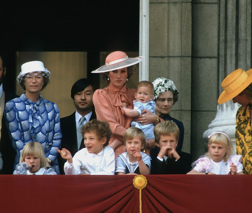 History of Trooping Princess Diana, Prince William, Prince Harry Photo (C) Rex.jpg