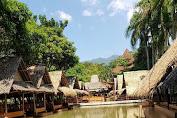 kampung turis Karawang ,wisata taman air dan resort