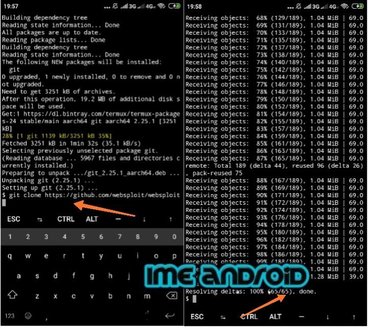 Cara install aplikasi websploit di hp