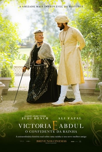 Victoria e Abdul - O Confidente da Rainha - Pôster nacional
