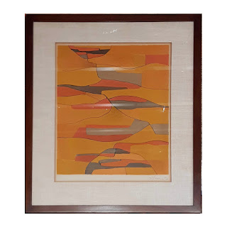 Signed Modern Lithograph