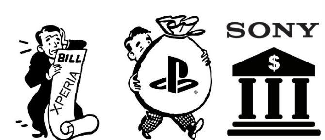 Ba tháng vừa qua Sony vẫn có lãi bất chấp mảng di động thua lỗ