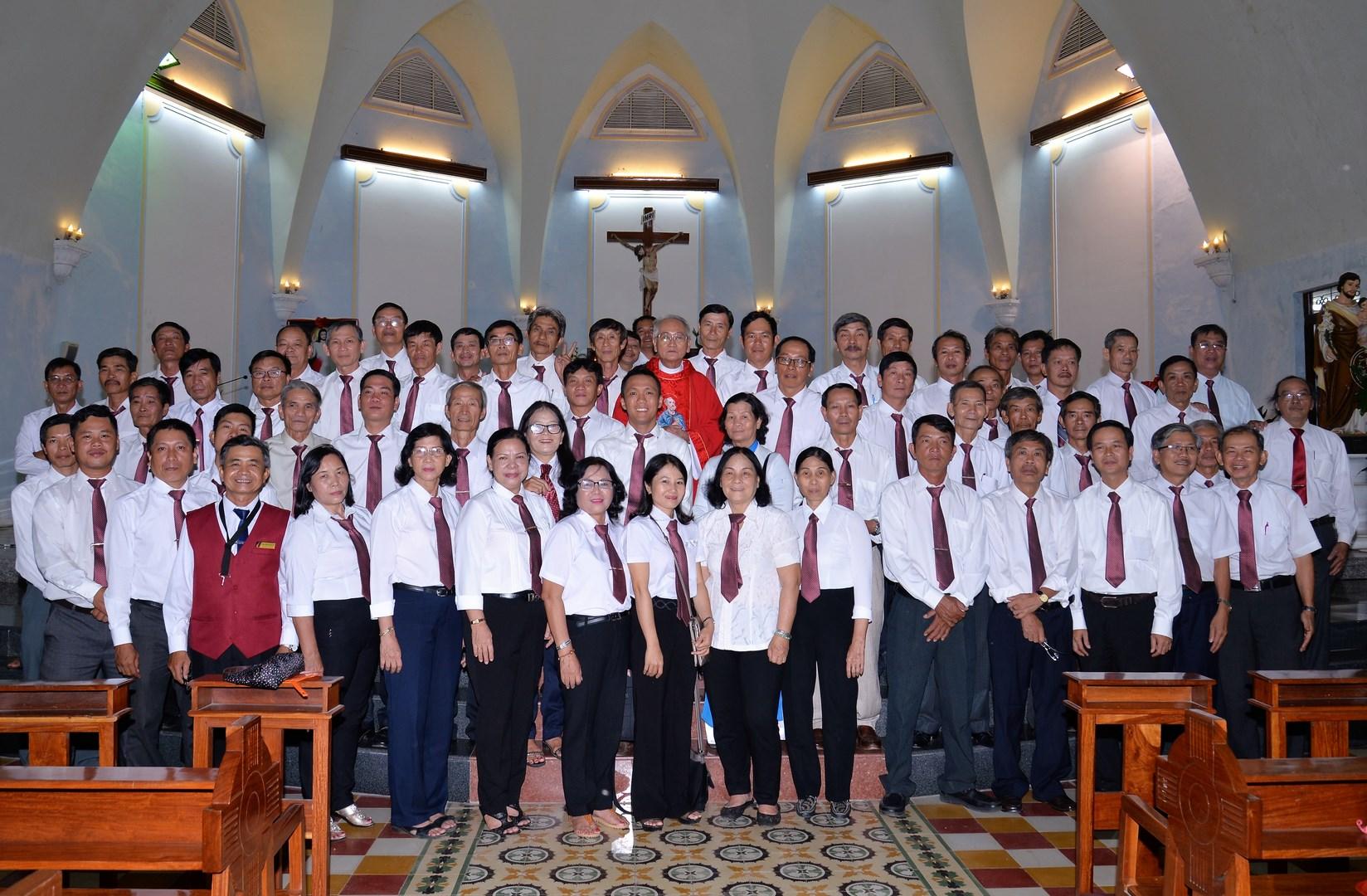 Hội đồng giáo xứ Tuy Hòa mừng lễ bổn mạng
