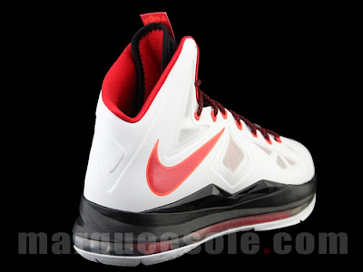 nike lebron 10 gr miami heat home 1 04 First Look: Nike LeBron X Miami Heat Home