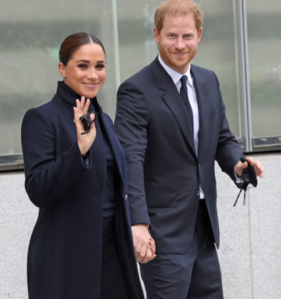 Prince Harry and Meghan Markle visit the 9/11 memorial and One World Trade Center during their first major public appearance since welcoming daughter (Best photos)