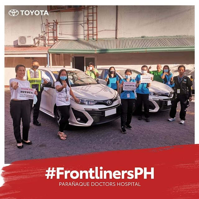 Toyota Phils lend Test-Drive Cars to #Frontliners!