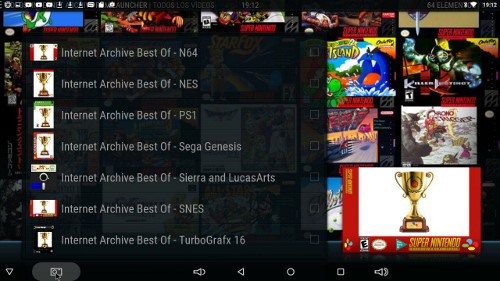 Android TV + RetroArch + Kodi = Videojuegos retro por un tubo