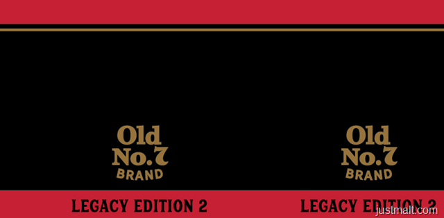 Jack Daniel's Old No. 7 Brand Legacy Edition 2 Tennessee Whiskey