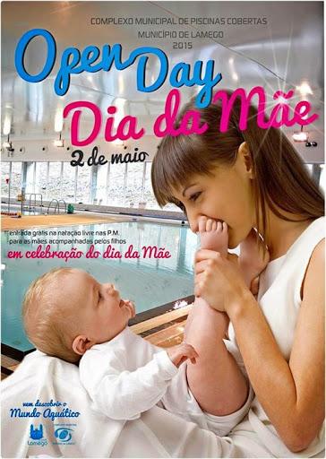 Open Day nas Piscinas Cobertas celebra o Dia da Mãe
