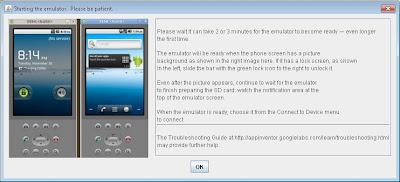Emulador, sincronización con dispositivo Android conectado al equipo