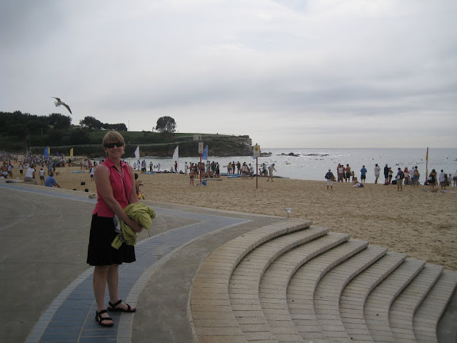 Took a bus to Coogee then hiked North along the beaches of Sydney