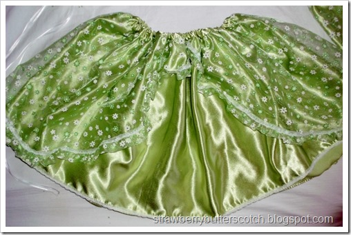 Skirt for Green Sprite Costume