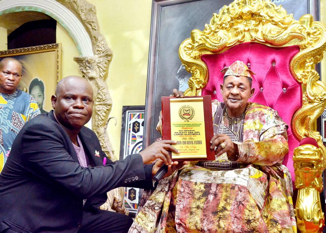 Alaafin calls for reformatory approach to  Criminal Justice System