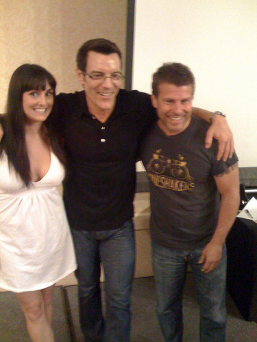 Tony Horton With Fitness Students, Tony Horton