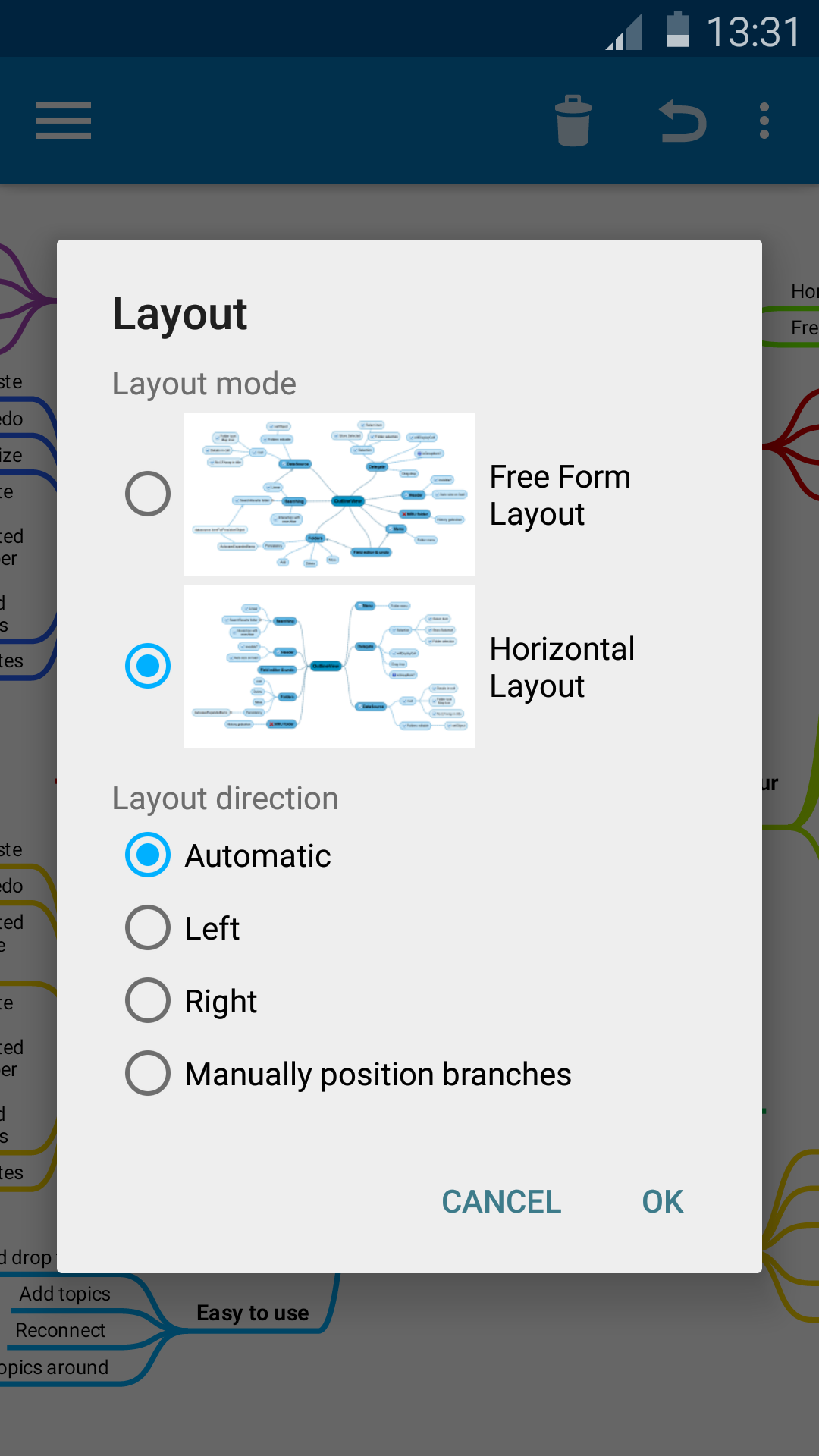 SimpleMind Free mind mapping screenshot #7