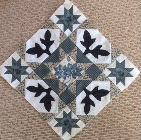 Antique Wedding Sampler quilt