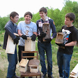 ученикам ФМШ 146 за птичьи домики