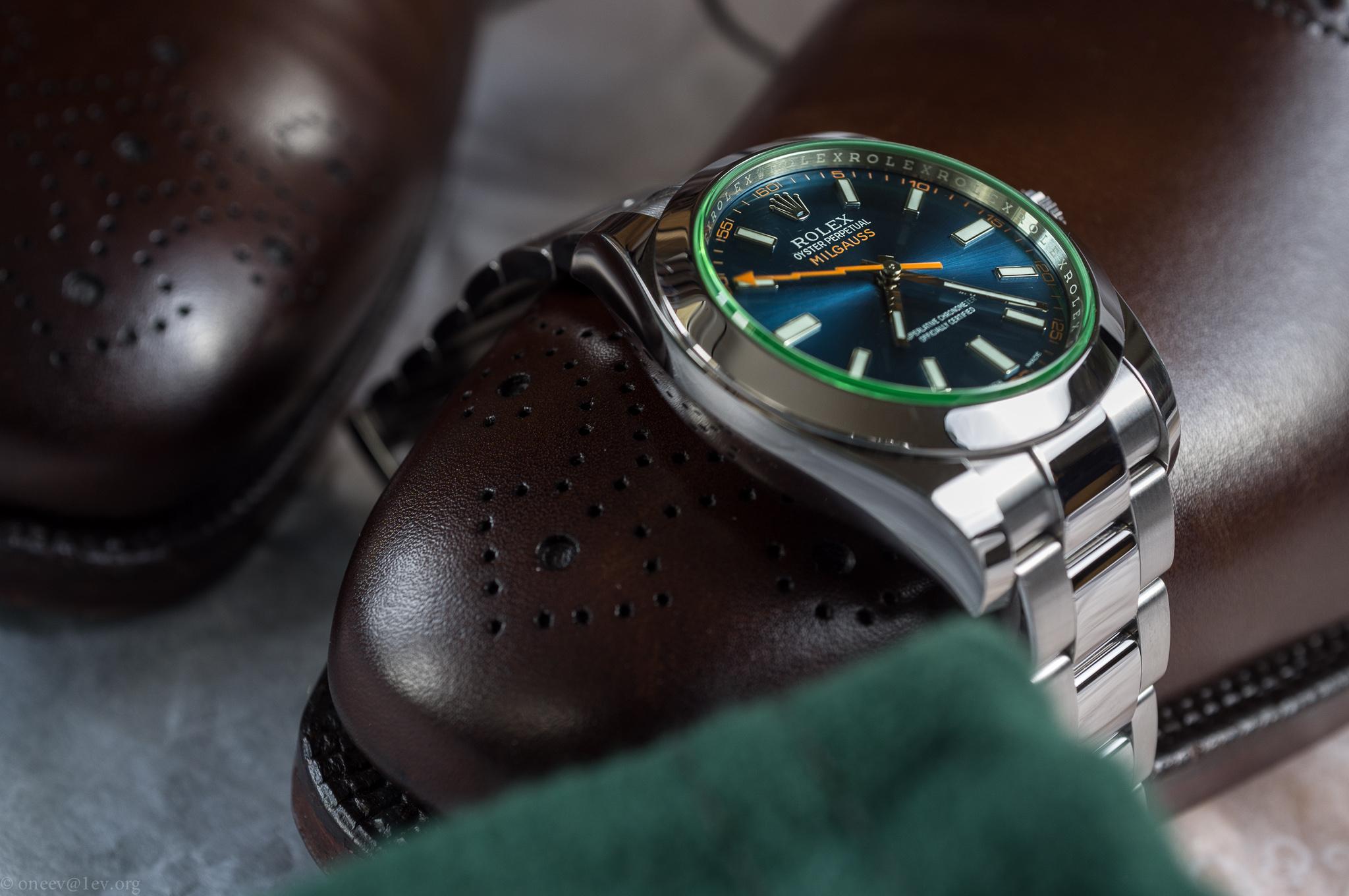 Revue illustrée de la Rolex Milgauss Z-Blue 20150514-DSCF6747
