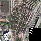 Кадастровая карта - зона парков в долине ручья Уинка целиком