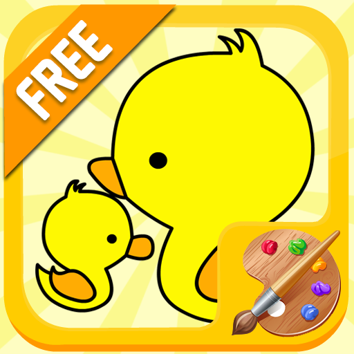 カラーリング動物 教育 App LOGO-硬是要APP