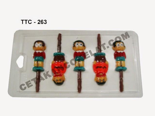 Cetakan Coklat TTC263 Nobita Doraemon giant