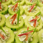 Cucumber Cups topped with Blue Cheese Mousse1.jpg