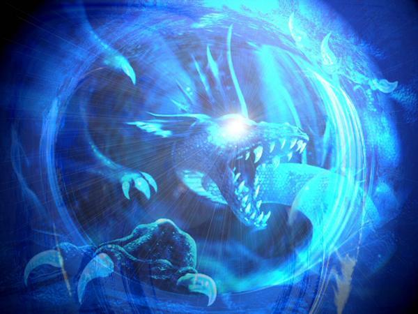 Dragon Ice, Dragons