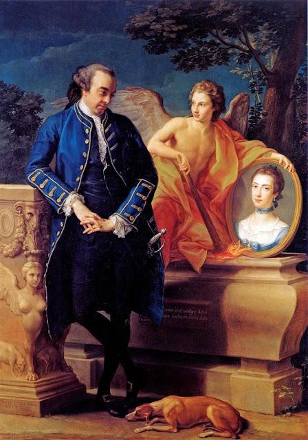 Pompeo Batoni - Portrait of Wills Hill, 1766