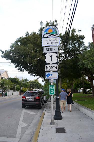 Начало первой дороги. Ки-Уэст, Флорида (Key West, Florida)
