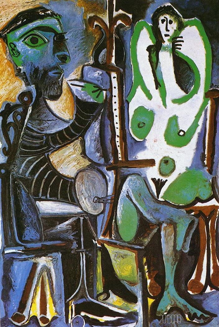 testclod: Le Peintre et son Modèle, Pablo Picasso