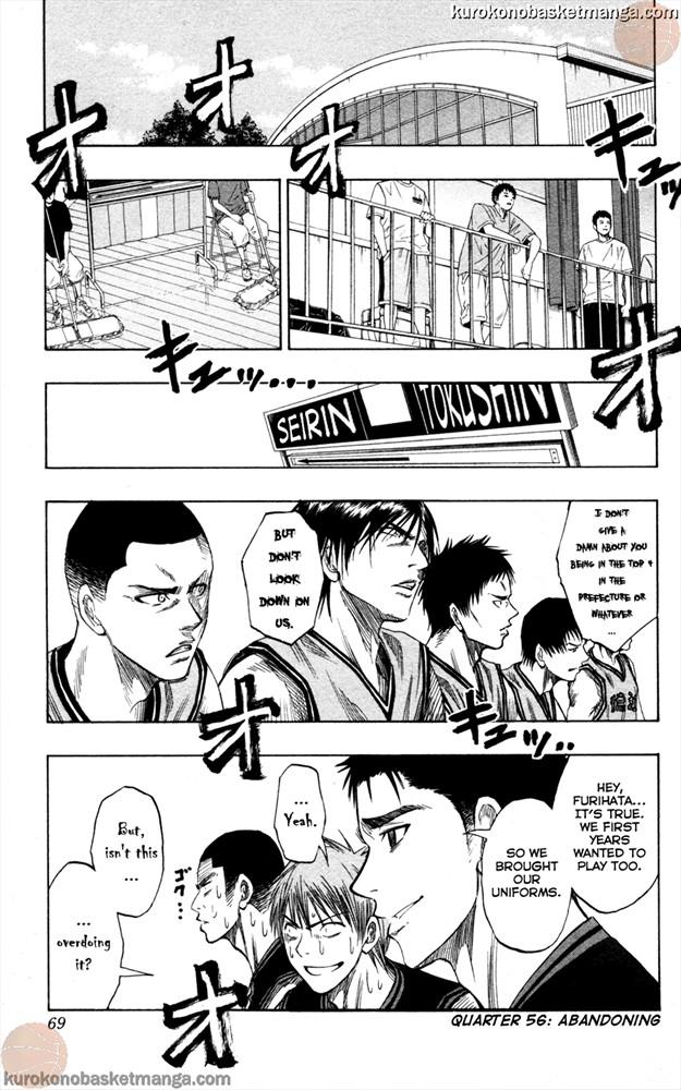 Kuroko no Basket Manga Chapter 56 - Image 01