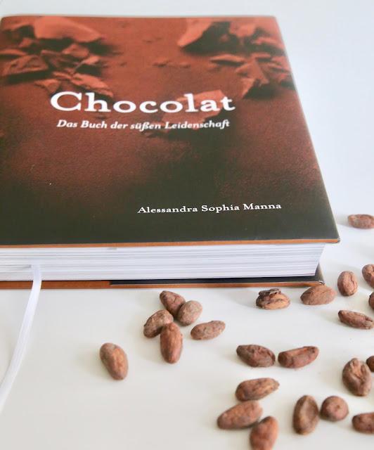 Sachbuch mit Geschichten zum Thema Schokolade