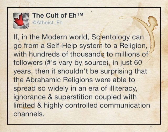 The Cult of Eh!: A brief history of Yahweh