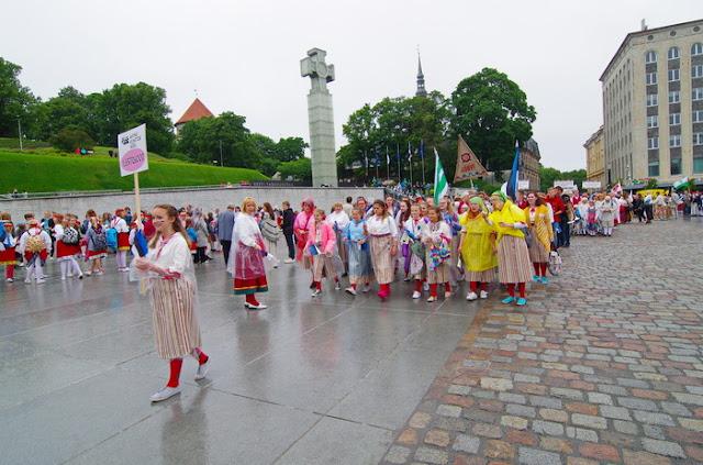 XII Noorte laulu ja tantsupidu / XII Молодежный певческий и танцевальн - IMGP4408.JPG