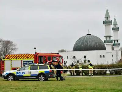 مسجد في السويد يتلقى بريدا يحوي مواد خطرة