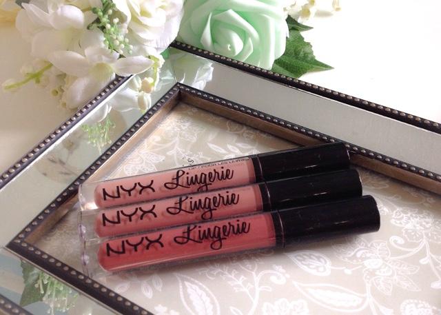 Review, Nyx Lip Lingerie, Lace Detail, Bedtime Flirt, Exotic