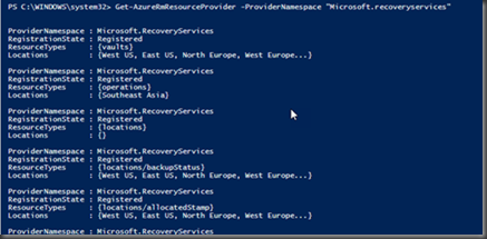 Hemal Ekanayake: Configure Azure Backup - using PowerShell