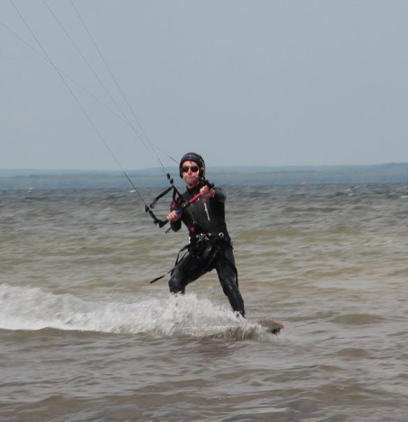 Alex Lesli Pua Struggles With The Waves, Alex Lesley