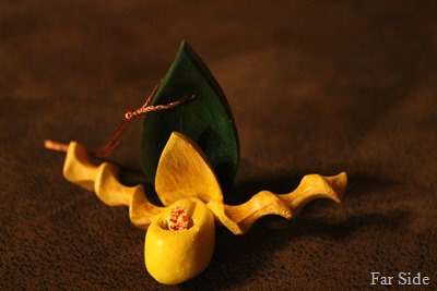 Lady Slipper Ornament